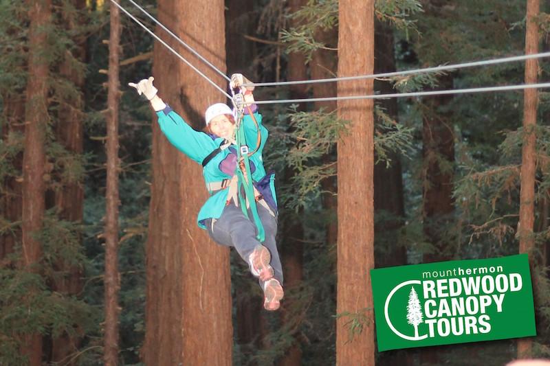 Kathryn Gorges Ziplining